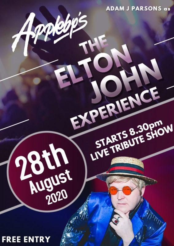elton john experience 28th august 2020